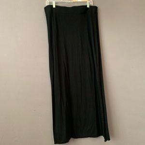 Women's Limited long black comfy skirt